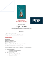 DR. GEORG LOMER - Sept Lettres sur le développement des Pouvoirs de l'Âme