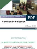 Presentacion Comision Educacion Llama