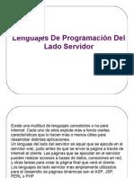Lenguajes De Programación Del Lado Servidor