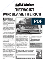 Racist Van - Don't let the racists divide us