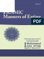 Islamic Manners of Eating.