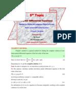 5. Charpit's Method