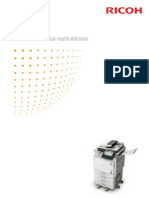 Midshire Business Systems - Ricoh MP C300 / MP C300SR / MP C400 / MP C400SR - A4 Multifunctional Printer Colour Brochure