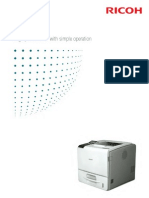 Midshire Business Systems - Ricoh Aficio SP 5200DNSP / 5210DN - A4 Printer Mono Brochure