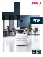 Midshire Business Systems - Ricoh MP 2001SP / MP 2501SP - A3 Multifunctional Printer B+W Brochure
