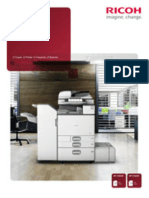 Midshire Business Systems - Ricoh MP C3003SP / MP C3503SP - A3 Multifunctional Printer Colour Brochure