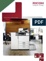 Midshire Business Systems - Ricoh MP C4503 / MP C5503 / MP C6003SP - A3 Multifunctional Printer Colour Brochure