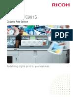 Midshire Business - Ricoh ProC901 - SRA3 Print Production Colour Brochure