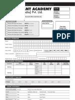 Application Form Dlp