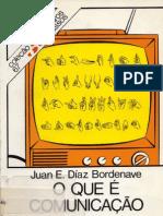 Juan E. Díaz Bordenave - ¿Qué es la comunicación?