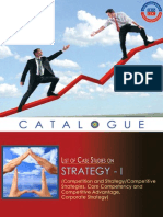 Case Studies on Strategy(Catalogue I)