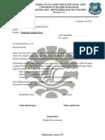 Surat Undangan Seminar Desa