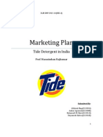 Tide Marketing Plan Grp5 SecA