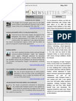 India Transport Portal Newsletter - May, 2013