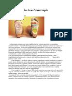 Zone Energetice in Reflexoterapie
