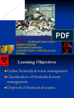 Seminar_1 (Bio Medical Waste Management