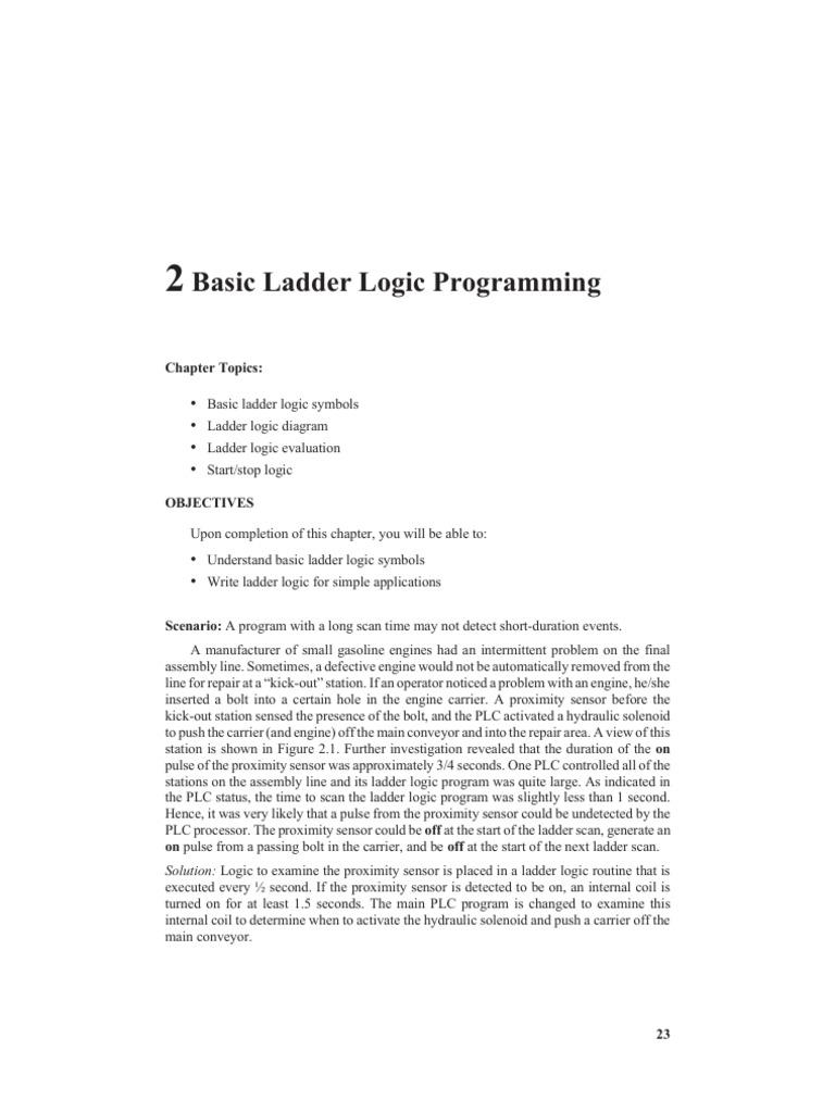 Basic ladder logic programming programmable logic controller relay ccuart Gallery