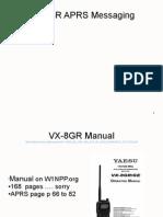 Vx 8gr Aprs Messaging