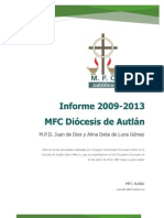 Informe Mfc Autlan 2012