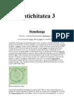 ISTORIA OMENIRII; Antichitatea; 3