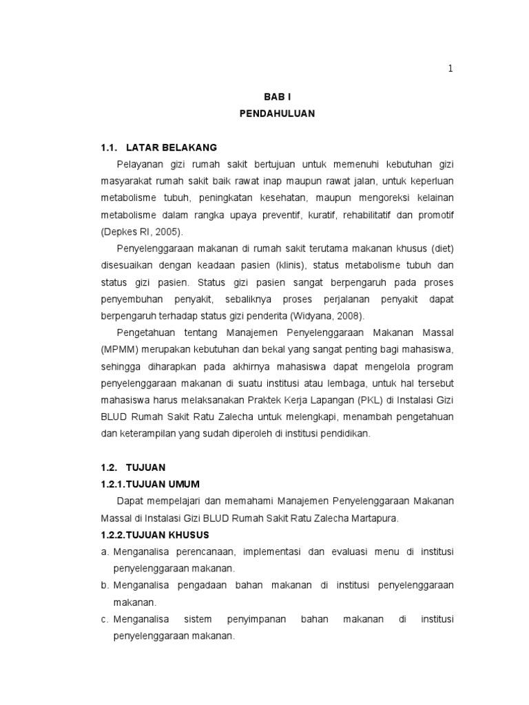 Laporan Pkl Mpmm Stikes Husada Borneo