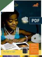 Vidya Deep.solar Reading Lamp- Brochure