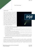Visual Comet Hunting1