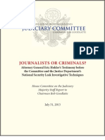 House Judiciary Committee Report