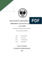 PLC - Simulasi Pintu Garasi Mobil Otomatis Berbasis PLC