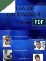 Plan de Calidadad II