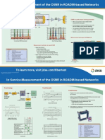 Jdsu in Service Measurement of the Osnr in Roadm Based Networks