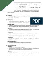 P-PG-SE-02.01 Capacitación, Inducciones y Competencias v1