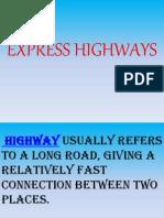 Express Highways.ppt.4th Sem