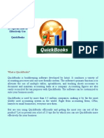 25 Quickbooks Tips