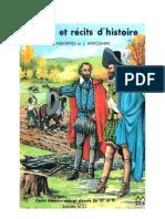 Histoire CE1-CE2 Images et récits d'histoire Anscombre Ageorges 1971