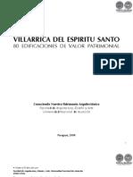 VILLARRICA DEL ESPIRITU SANTO - 80 EDIFICACIONES DE VALOR PATRIMONIAL