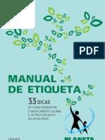 PlanetaSustentavel.com.Br Manual de Etiqueta 2007