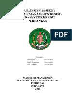 Makalah Manajemen Resiko 24 Mei 2013