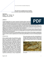Tunnelling in Alpine Fault Zones_excavation and Support Strategies