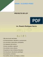 ley siñani - Elizardo Perez