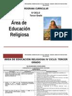 Educación Religiosa 3º Grado rutas.doc