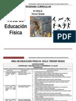 Educación Física 3º Grado rutas.doc
