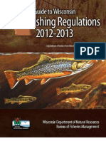 WI Trout fishing regulations