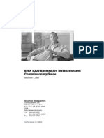 BWX 8305 Basestation Installation and Commissioning Guide