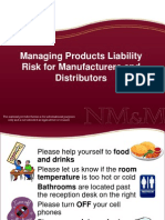 Product Liability Seminar Slides.ppt