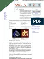 Pyramid of Balls Calculator _ Tetrahedron and Square Pyramid