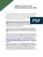 Instalar y Configurar Network Load Balancing