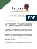 Interculturalidad y Zonas de Reserva Campesina Mayo2012 (1)