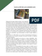 ELECTROCOAGULACIÓN DE AGUAS RESIDUALES