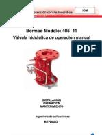 BERMAD - Válvula hidráulica de operación manual FP 405-11